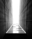 De abstractie van de stad Stock Foto