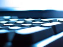 De abstractie van het toetsenbord Stock Foto's