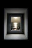 De abstractie van het venster Stock Fotografie