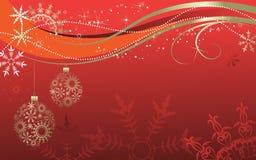 De abstractie van Kerstmis. Stock Fotografie