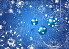 De abstractie van Kerstmis. Royalty-vrije Stock Fotografie