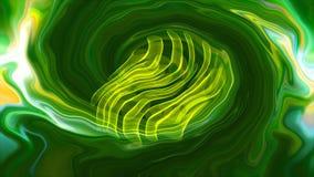 De abstractie van marmer, 3d waterverf marmeren creatief, geeft aquainkt het schilderen op water terug stock video