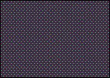 De abstrakta mångfärgade formerna på en svart bakgrund Royaltyfria Foton