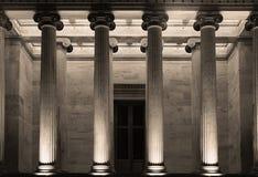 De Academie van Athene Stock Afbeeldingen