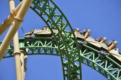 De achtbaan van de de Cobra'svloek van Buschtuinen Stock Foto