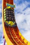 De achtbaan van de Rcraceauto in disneyland Parijs royalty-vrije stock fotografie
