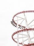 De achtbaan in Wenen wauwelt Royalty-vrije Stock Foto