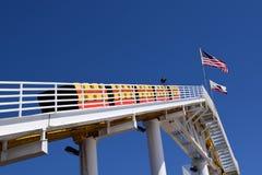 De achtbaan in Wenen wauwelt Royalty-vrije Stock Afbeeldingen