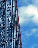 De achtbaan in Wenen wauwelt Stock Afbeelding