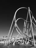 De achtbaan in Wenen wauwelt Stock Fotografie