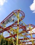 De achtbaan in Wenen wauwelt Stock Afbeeldingen