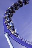 De achtbaan in Wenen wauwelt Royalty-vrije Stock Foto's