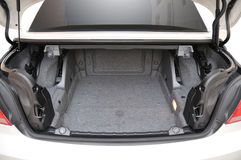 De achter open convertibele auto van BMW 335i Stock Foto