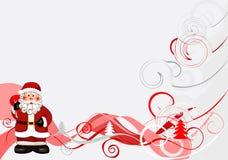 De achtergrond 2008 van Kerstmis stock illustratie