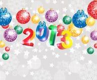 De achtergrond 2013 van het nieuwjaar Stock Afbeelding