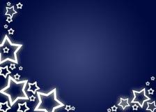 De achtergrond/de kaart van Kerstmis stock illustratie