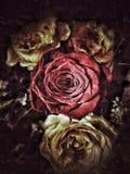 De achtergrond en de textuur van de Grungebloem Royalty-vrije Stock Foto's