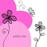 De achtergrond flowerses. Royalty-vrije Stock Foto