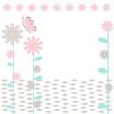De achtergrond flowerses. Stock Fotografie