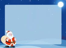 De achtergrond/het frame van de winter Royalty-vrije Stock Afbeeldingen