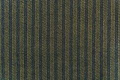 De achtergrond, textuur van donkergrijze fijne wolstof met strepen Royalty-vrije Stock Fotografie
