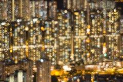 de achtergrond van ฺColorslichten Stock Foto