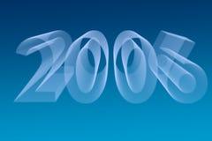 de achtergrond van 2006 Stock Afbeelding