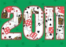 de achtergrond van 2011 Royalty-vrije Stock Fotografie
