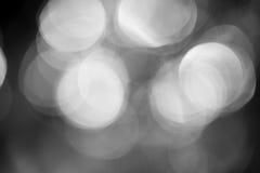 De achtergrond van Abstracebokeh van dichte kristal van de water het magische flits Stock Foto
