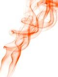 De achtergrond van Abstrack met oranje rook Stock Fotografie