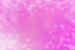 De Achtergrond van abstract Valentine stock illustratie