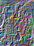 De achtergrond van de abstractie Royalty-vrije Stock Foto's