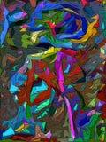 De achtergrond van de abstractie Royalty-vrije Stock Fotografie