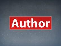De Achtergrond van auteursred banner abstract stock illustratie