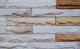 De achtergrond van de de baksteenoppervlakte van de steenmuur stock afbeelding