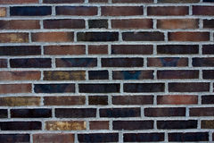 De achtergrond van bakstenen Stock Fotografie