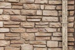 De achtergrond van de de bakstenen muurtextuur van Adobe, samenvatting stock foto