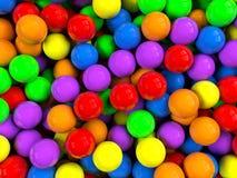De achtergrond van ballen stock illustratie