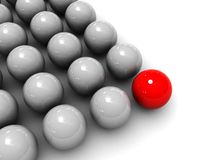 De achtergrond van ballen vector illustratie