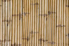 De achtergrond van de bamboeomheining Royalty-vrije Stock Fotografie