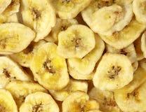 De achtergrond van bananen Royalty-vrije Stock Afbeeldingen