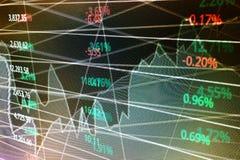 De achtergrond van de beursraad Royalty-vrije Stock Foto