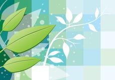 De Achtergrond van bladeren Stock Foto's