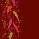 De Achtergrond van bladeren Stock Afbeeldingen