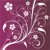 De achtergrond van bloemen Vector Illustratie