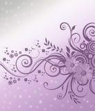 De achtergrond van bloemen Royalty-vrije Stock Afbeelding