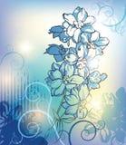 De achtergrond van bloemen Stock Foto's