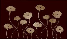 De achtergrond van bloemen Stock Afbeeldingen
