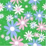 De achtergrond van bloemen. Naadloos. Stock Illustratie