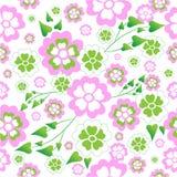 De achtergrond van bloemen. Naadloos Royalty-vrije Stock Fotografie